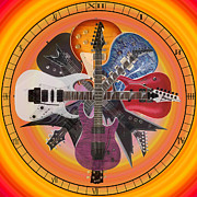 Ibanez Prints - 7 OClock Rock Print by Casey Tovey