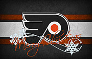 Flyers Hockey Framed Prints - Philadelphia Flyers Framed Print by Joe Hamilton