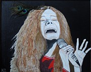 Ken Zabel Metal Prints - Piece of my heart. Janis. Metal Print by Ken Zabel