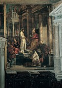Pilate Art - Robusti Jacopo Known As Tintoretto by Everett