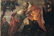 Cousins Framed Prints - Robusti Jacopo Known As Tintoretto, The Framed Print by Everett