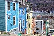 Wooden Ship Prints - Saint Johns. Newfoundland. Print by Fernando Barozza