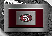Offense Framed Prints - San Francisco 49ers Framed Print by Joe Hamilton