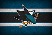 Hockey Photos - San Jose Sharks by Joe Hamilton