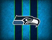 Football Photos - Seattle Seahawks by Joe Hamilton