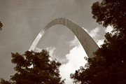 Expansion Posters - St. Louis - Gateway Arch Poster by Frank Romeo