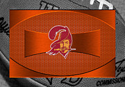 Football Posters - Tampa Bay Buccaneers Poster by Joe Hamilton