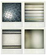 Shiny Photo Prints - Textures Print by Les Cunliffe