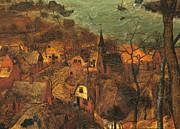 The Gloomy Day , By Pieter Bruegel Print by Pieter the Elder Bruegel