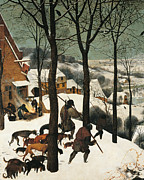 The Hunters In The Snow, By Pieter Print by Pieter the Elder Bruegel