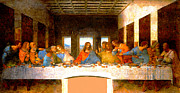 Disciples Posters - The Last Supper  Poster by Leonardo da Vinci