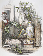 Winter Sleep Photos - Thomas Nast: Christmas by Granger