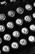 Typewriter Keys Photo Posters - Typewriter keys Poster by Falko Follert