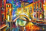 Venice Print by Leonid Afremov