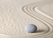 Asian Culture Prints - Zen Garden Print by Dirk Ercken