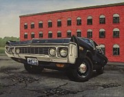 Police Car Paintings - 72 Polara by Robert VanNieuwenhuyze