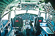 747 Photos - 747 Cockpit 6 by Micah May