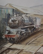 Restore Paintings - 75069 BR Standard Class 4 by Martin Howard