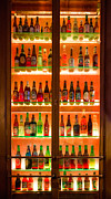 Pilsner Posters - 76 Bottles of Beer Poster by Semmick Photo