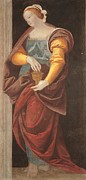St Mary Magdalene Metal Prints - Italy, Lombardy, Milan, Brera Art Metal Print by Everett