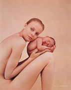 Women Children Framed Prints - Untitled Framed Print by Anne Geddes