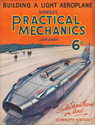 Practical Mechanics Drawings Framed Prints - 1930s Uk Practical Mechanics Magazine Framed Print by The Advertising Archives