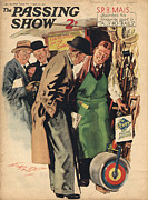 Shopping Drawings - 1930s,uk,the Passing Show,magazine Cover by The Advertising Archives