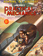 Mechanics Drawings - 1940s Uk Practical Mechanics Magazine by The Advertising Archives
