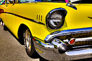 57 Photos - 1957 Chevy Bel Air Custom Hot Rod by David Patterson