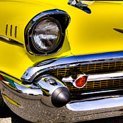 Custom Grill Photos - 1957 Chevy Bel Air by David Patterson