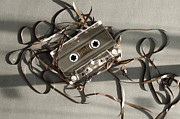 Data Photo Originals - Audio tape cassette with subtracted out tape.  by Deyan Georgiev