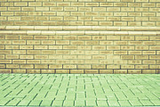 Brick Wall Print by Tom Gowanlock
