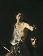 Michelangelo Framed Prints - Caravaggio, Michelangelo Merisi Da Framed Print by Everett