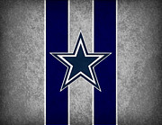 Offense Metal Prints - Dallas Cowboys Metal Print by Joe Hamilton