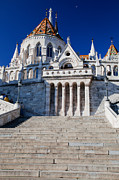 European Art - Fishermans Bastion in Budapest by Michal Bednarek