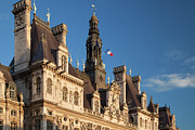 City Hall Prints - Hotel de Ville Print by Brian Jannsen