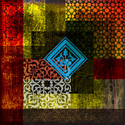 Arabic Prints - Islamic Motives Print by Corporate Art Task Force