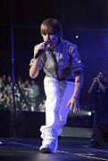Justin Bieber Live Print by David Buchan