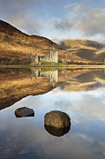 Loch Awe Framed Prints - Kilchurn Castle Framed Print by Grant Glendinning