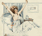 Nineteen-tens Art - La Vie Parisienne 1919 1910s France by The Advertising Archives