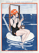 WomenÕs Art - La Vie Parisienne  1923 1920s France by The Advertising Archives
