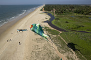 Kiting Prints - Mangalore, Kite Festival Print by Nicolas Chorier