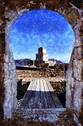 Hellas Posters - Methoni castle Poster by George Atsametakis