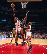 Bulls Photos - Michael Jordan Poster by Sanely Great