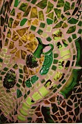 Mosaic Doorway Print by Charles Lucas