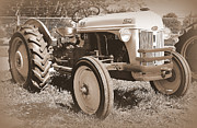 Old Farm Equipment Prints - 8 N Ford Tractor Print by Todd Hostetter