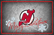 Hockey Photos - New Jersey Devils by Joe Hamilton