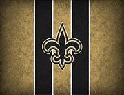 Nfl Prints - New Orleans Saints Print by Joe Hamilton