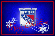 New York Rangers Art - New York Rangers by Joe Hamilton