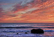 Vineyard Landscape Prints - Ocean Sunrise Print by John Greim